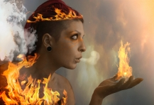 Fire Goddess four elements